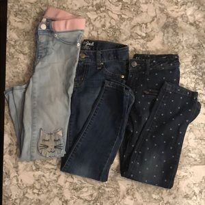 Other - Lot of girls size 7 jeans